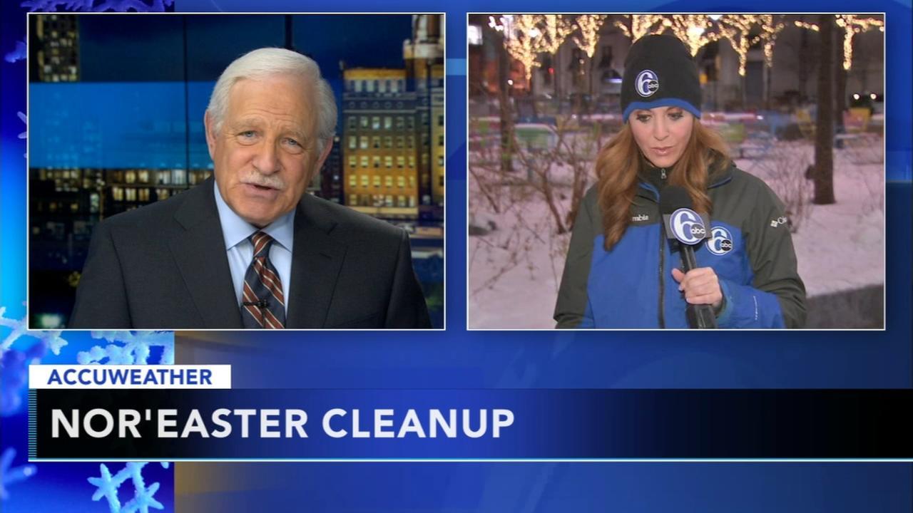 Snow emergency lifted in Philadelphia