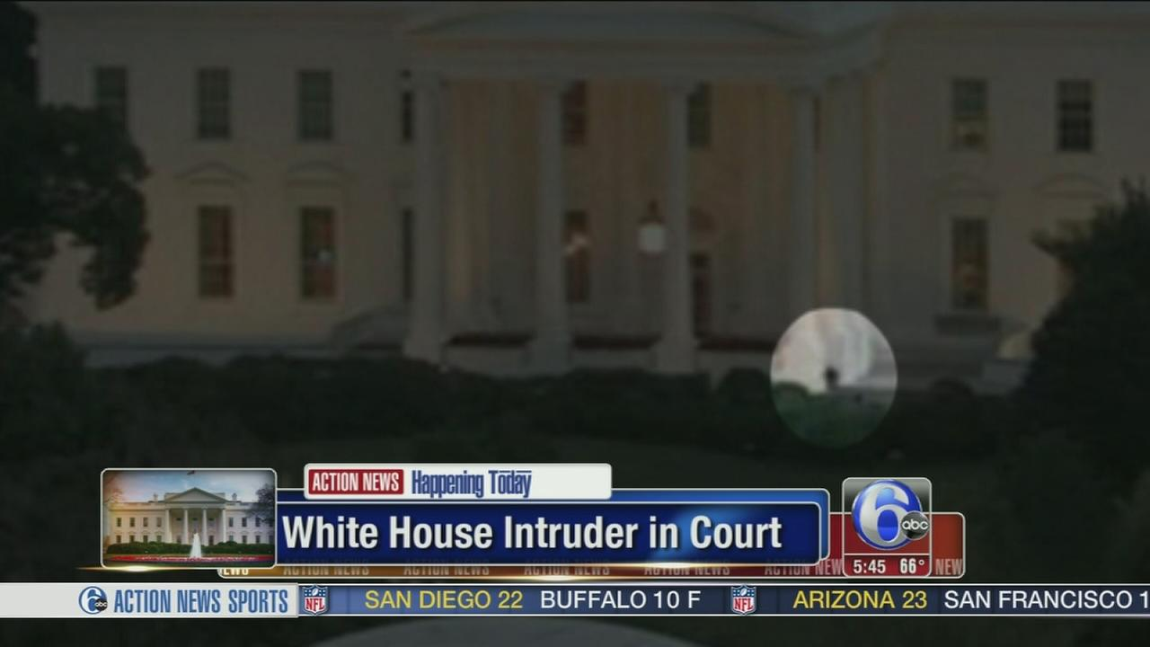 VIDEO: White House intruder in court today