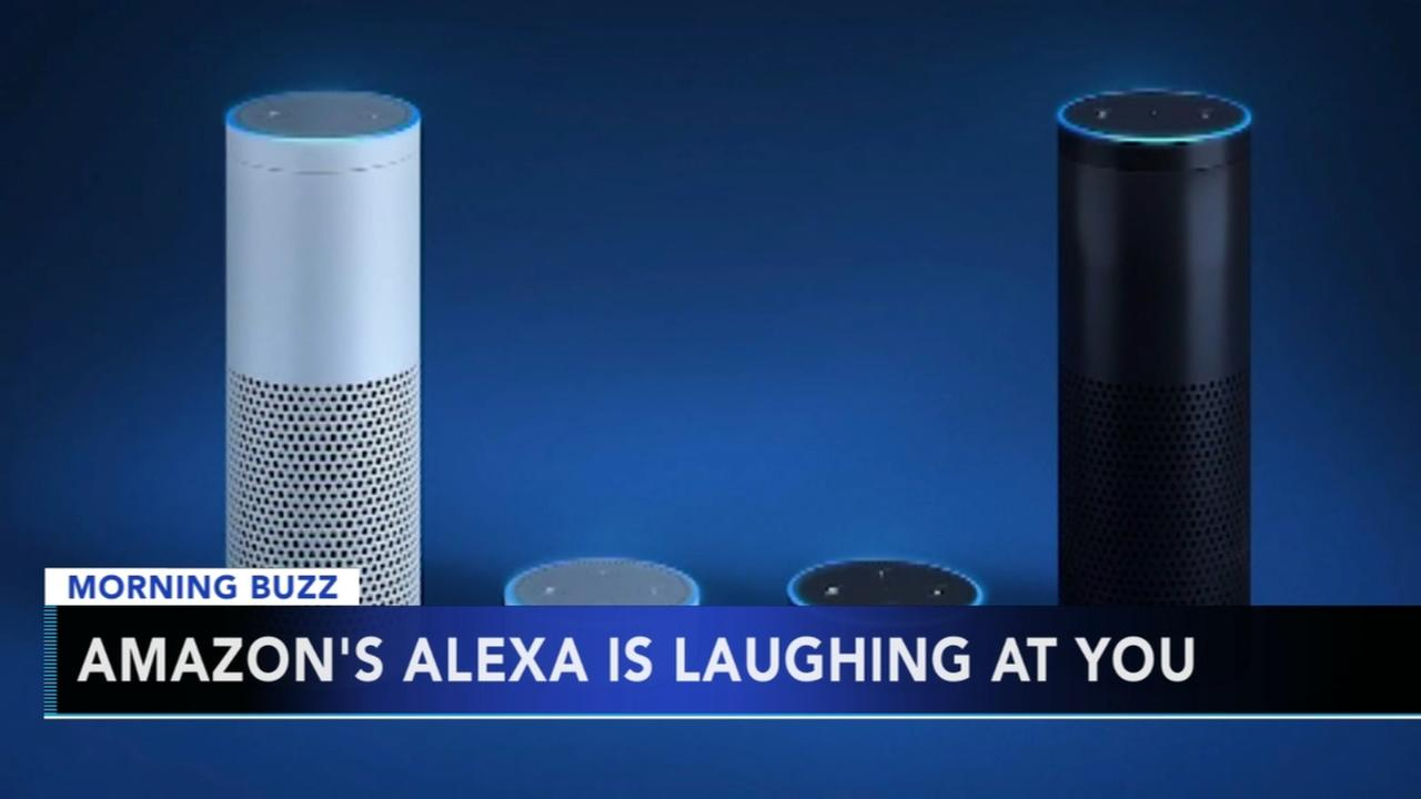 Alexa is laughing