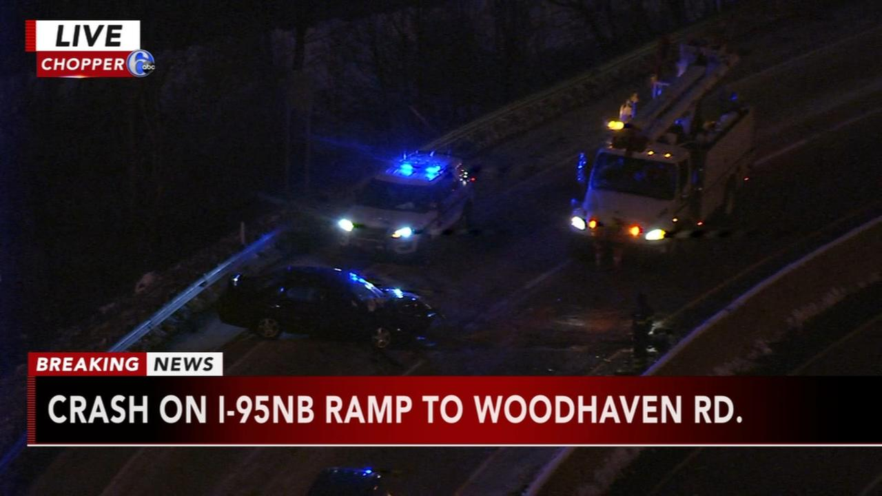 Crash on I-95 ramp