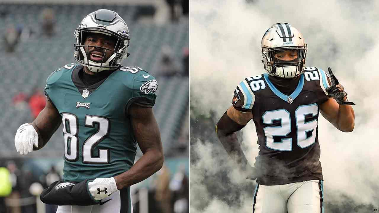 Panthers reportedly trade Daryl Worley to Eagles for Torrey Smith