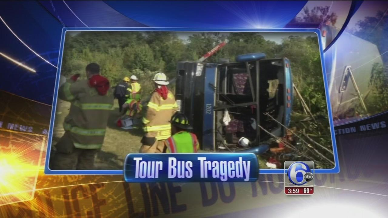 VIDEO: Tour bus tragedy in Delaware