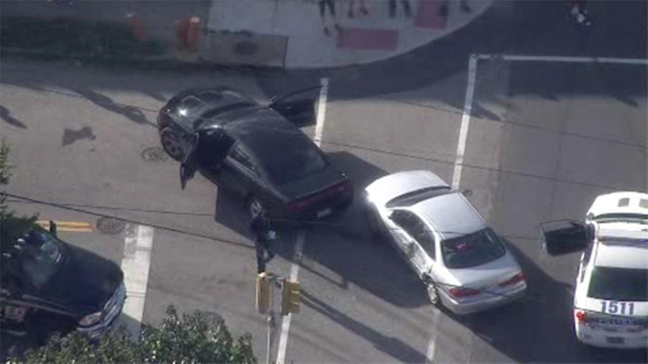 2 vehicle collide at crash-prone intersection in Mayfair