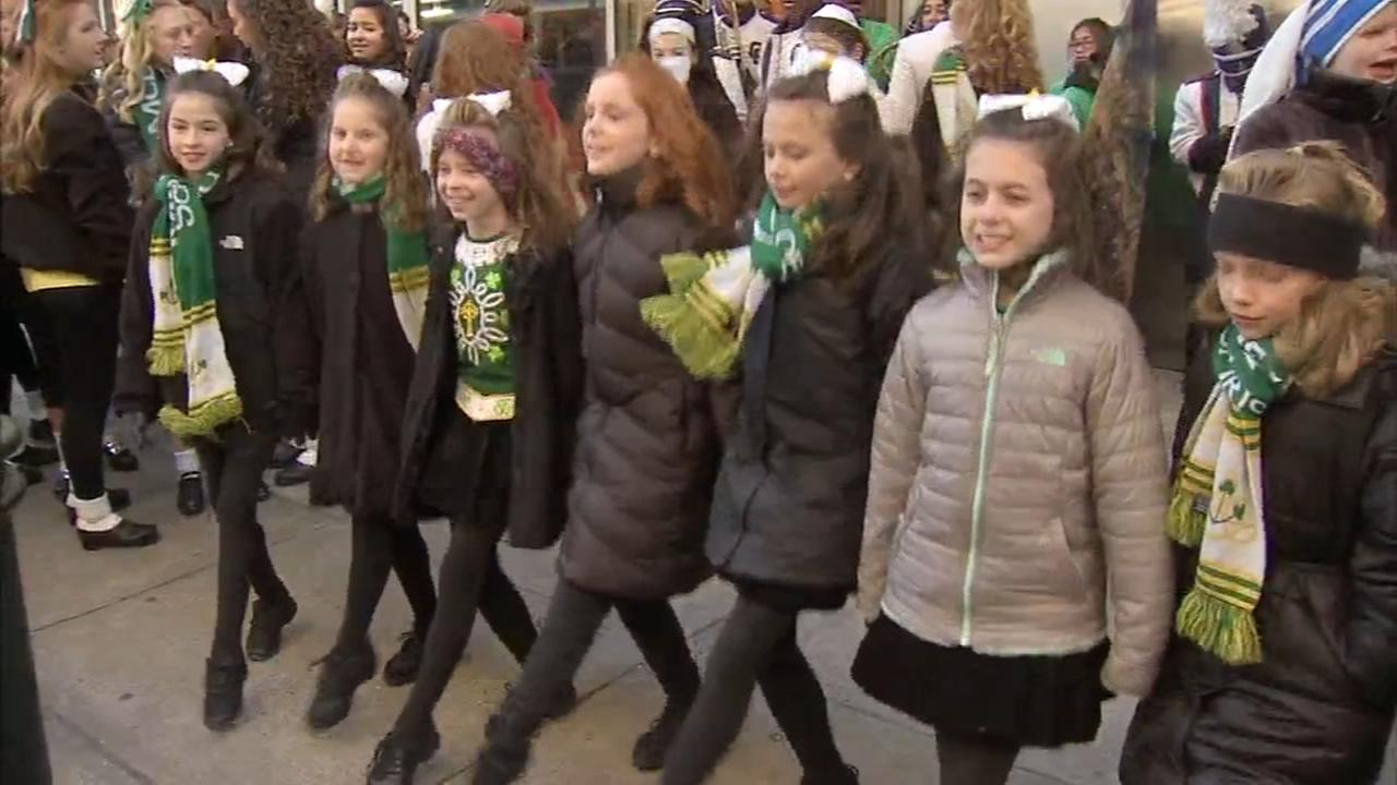 St. Patricks Day Parade steps off in Center City