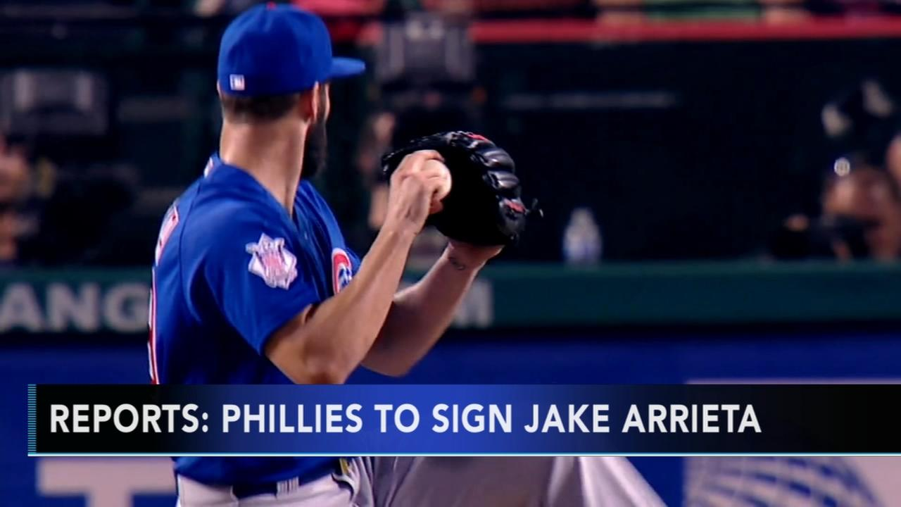 Reports Phillies to sign Arrieta