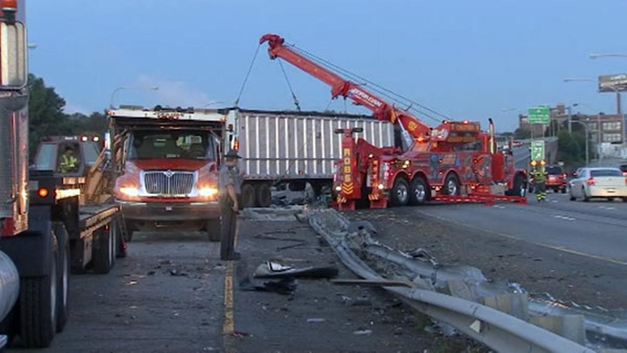 PHOTOS: Tractor-trailer crash on I-95