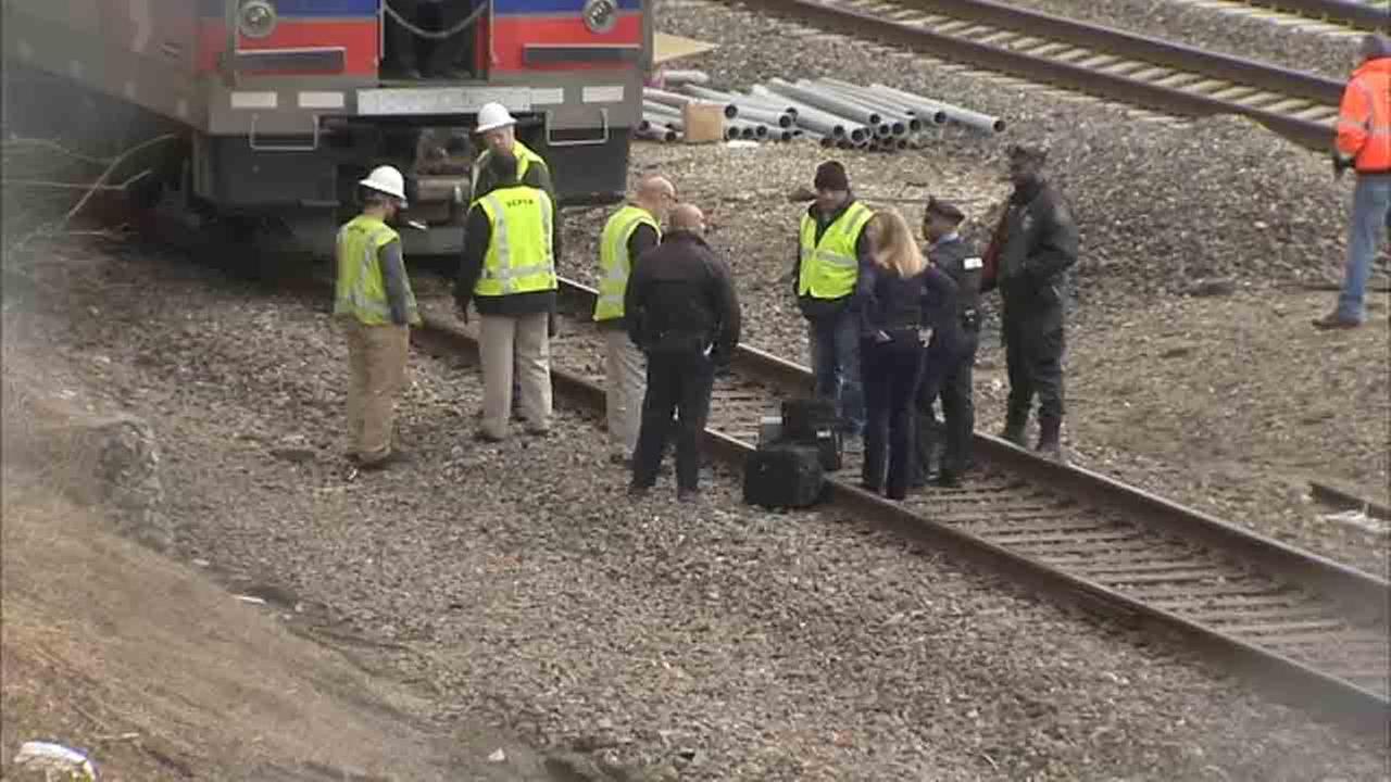 Pedestrian struck by train on SEPTA's Airport Line in Southwest Philadelphia