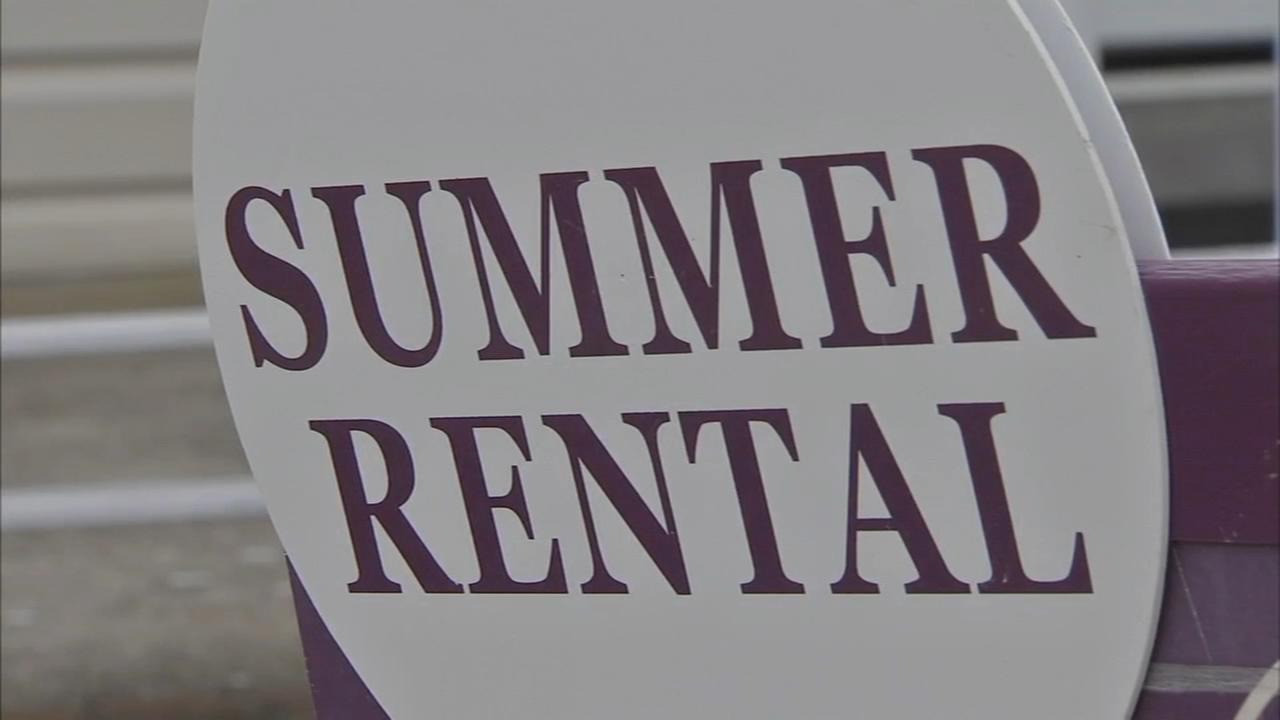 Shore-goers get an early start on summer rentals