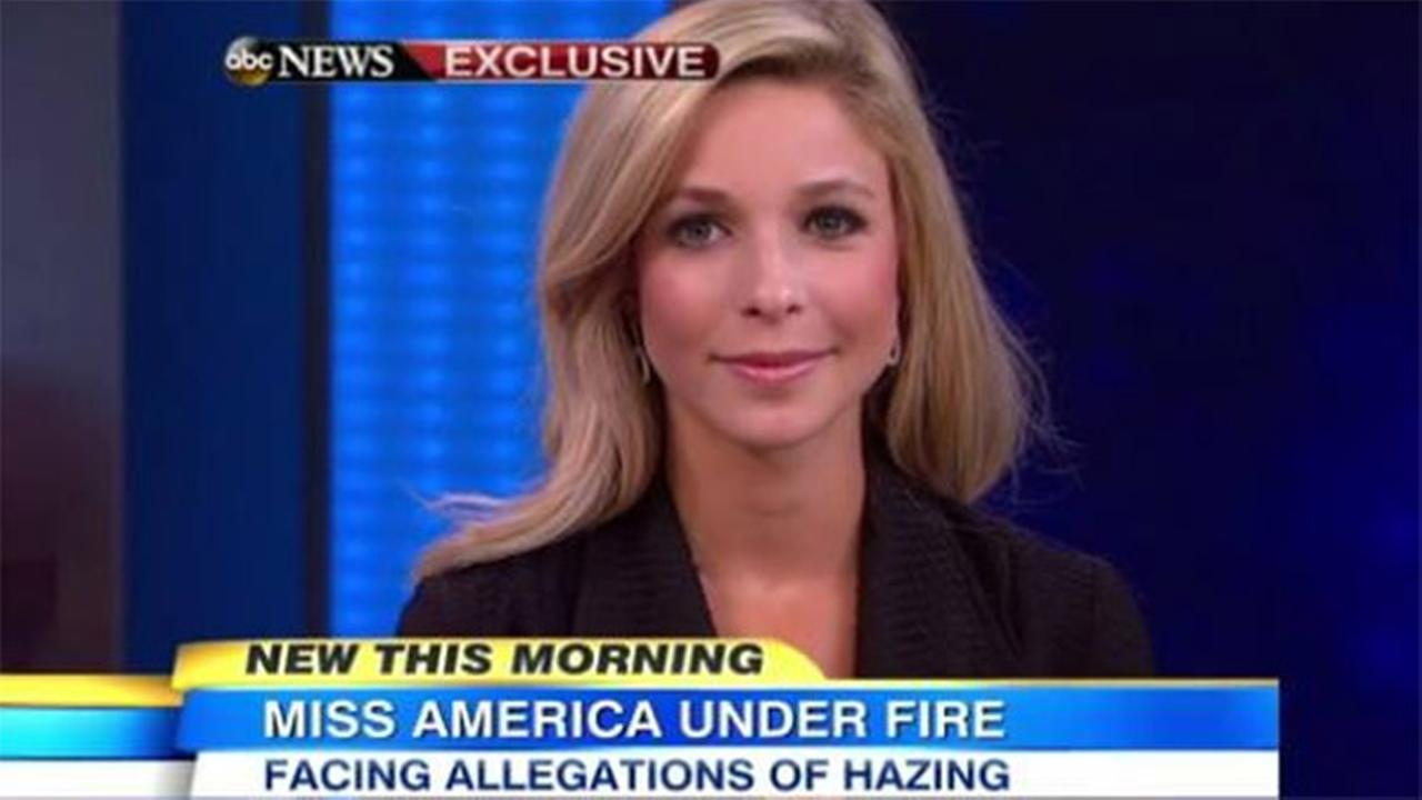 Miss America Kira Kazantsev faced questions Tuesday, September 23, 2014, on ABCs Good Morning America.
