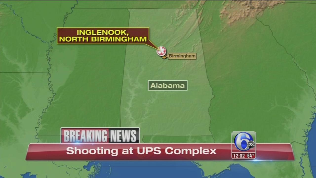 VIDEO: Shooting at UPS facility in Alabama