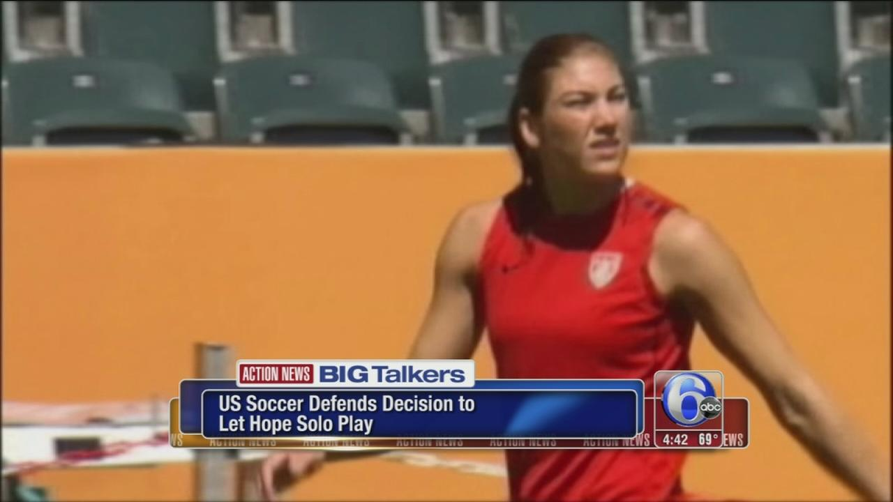 VIDEO: US Soccer stands by Hope Solo decision