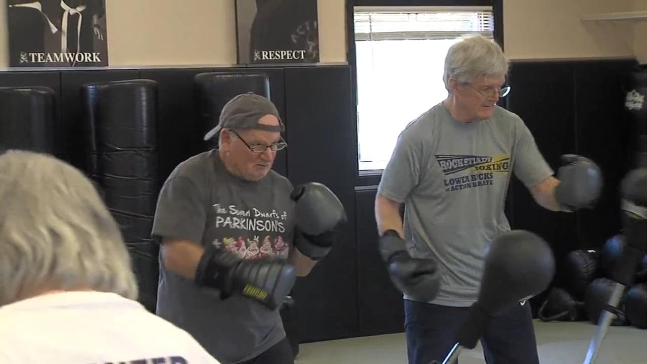 Rock Steady Boxing helps patients with Parkinsons