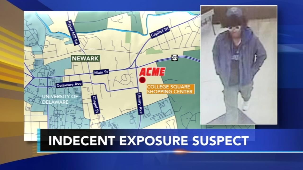 Police seek man who exposed himself in a Newark Acme
