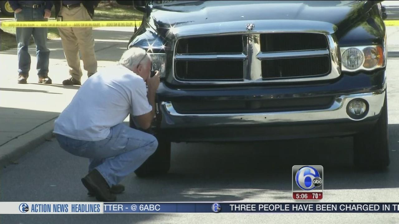 VIDEO: Woman struck by pickup truck in Wilmington