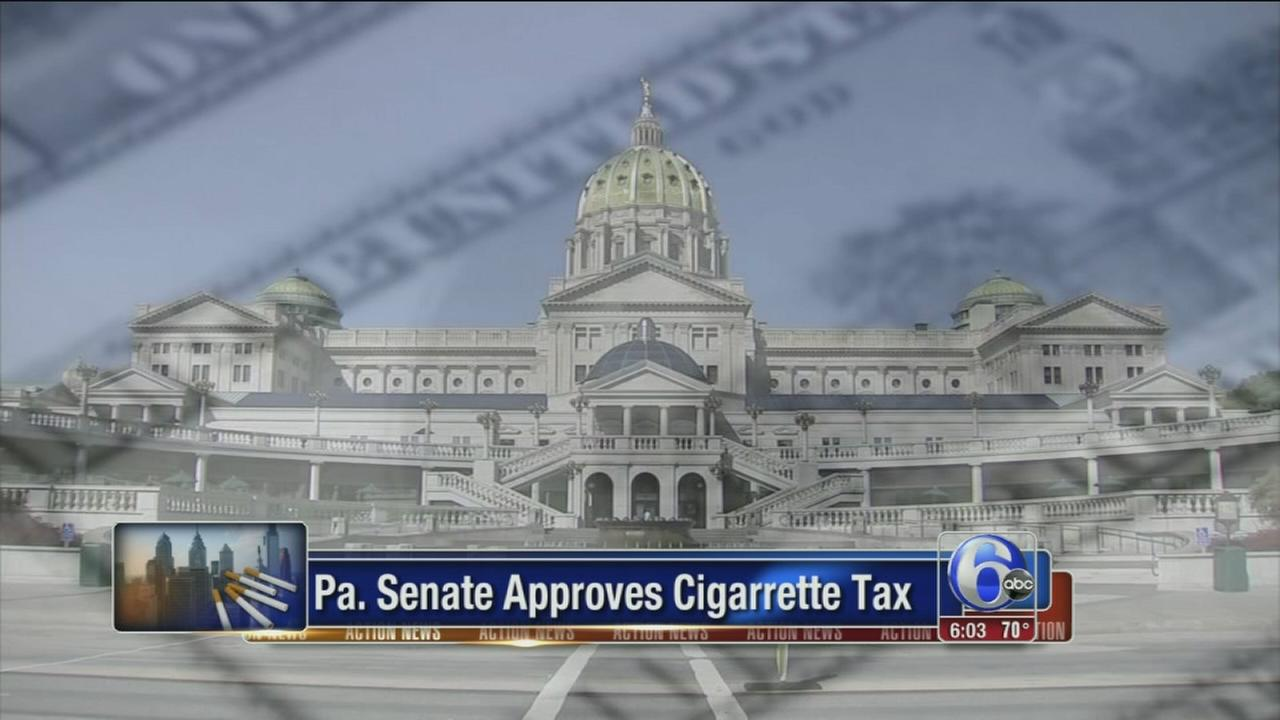 VIDEO: Pa. Senate approves tax hike