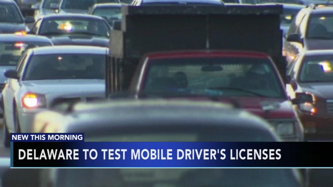 Delaware to test mobile drivers licenses