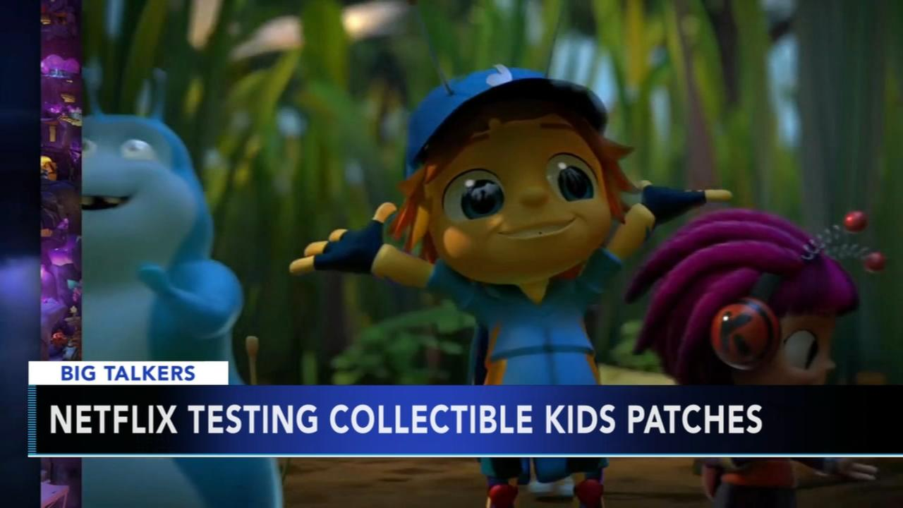 Netflix testing collectible kids patches