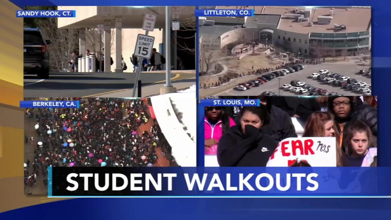 Students across the nation participate in walkout