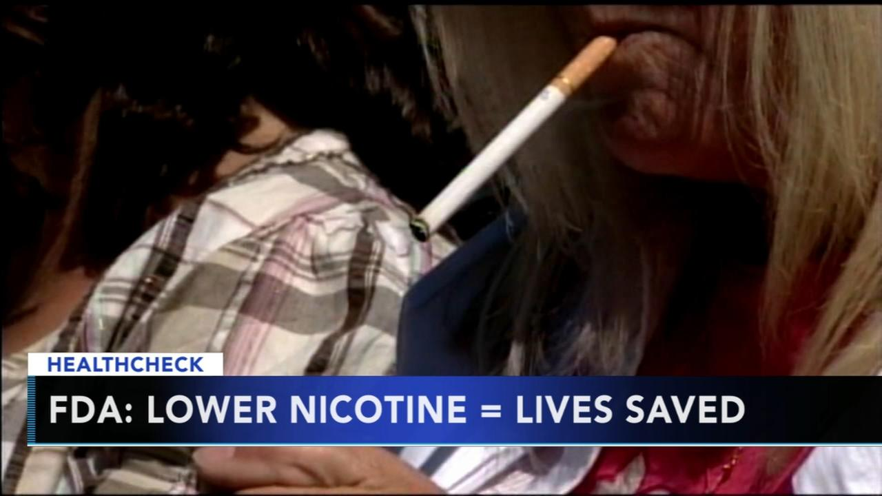 FDA begins push to cut addictive nicotine in cigarettes