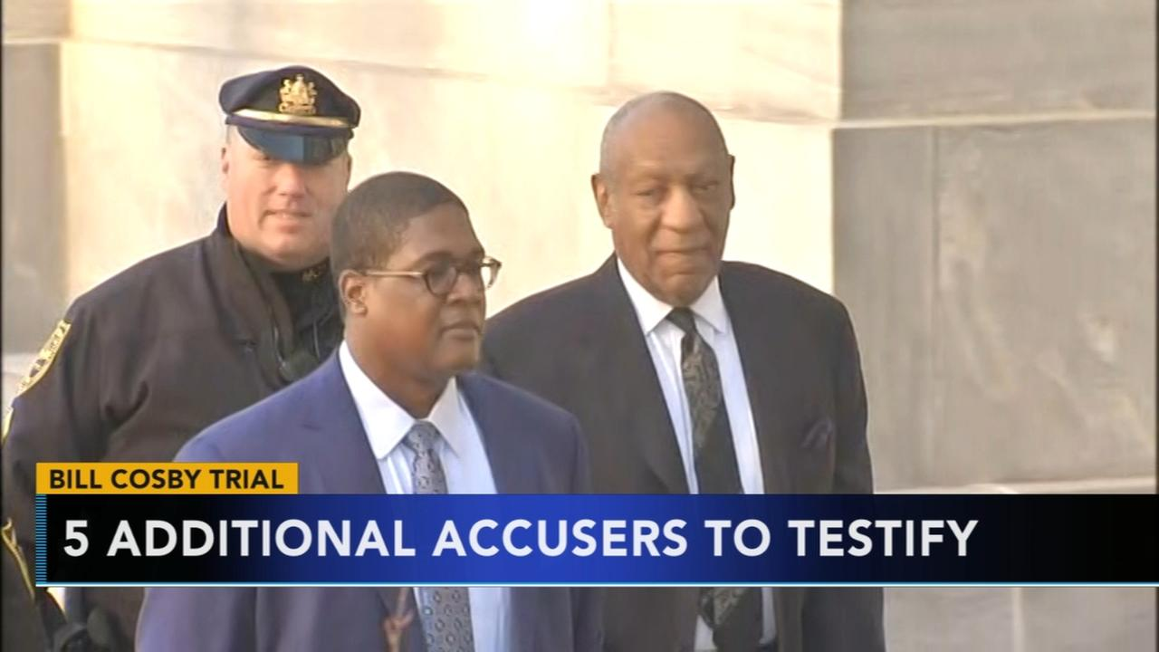 Judge permits additional accusers to testify in Cosby trial