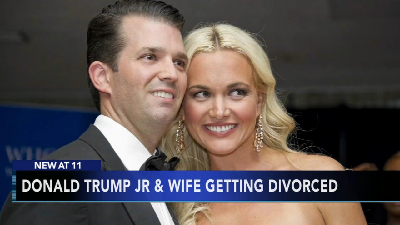 Donald Trump Jr.s wife files for divorce