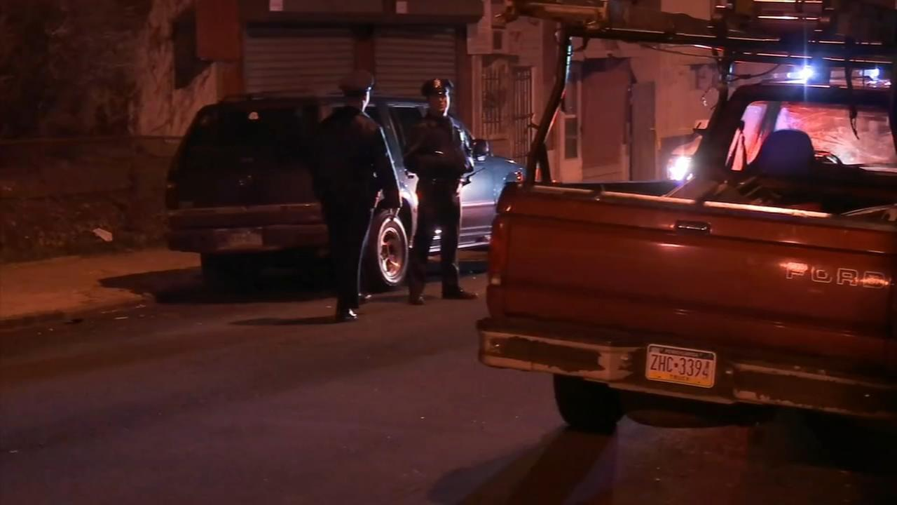3 suspects sought in Frankford shooting