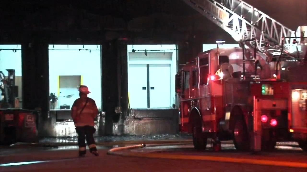 Firefighters battle fire at Yards Brewery in Spring Garden
