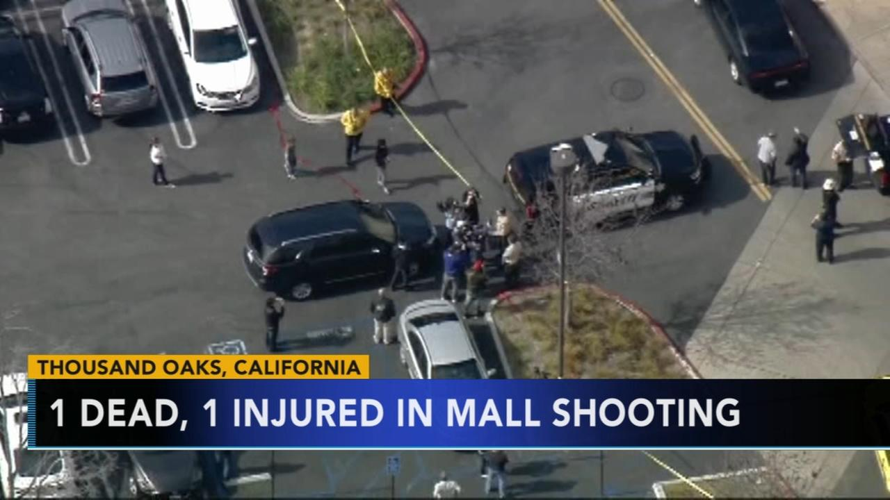 1 dead, 1 hurt in shooting at Thousand Oaks mall