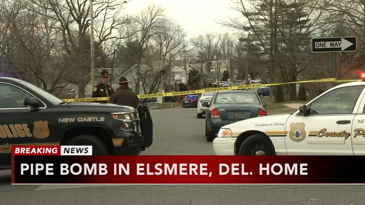 Explosives found inside Elsmere home, again