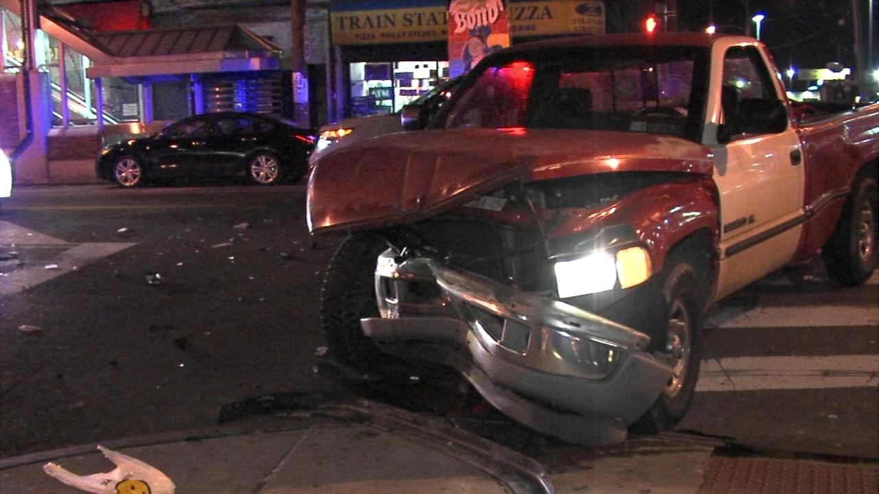 Driver sought in West Philadelphia crash