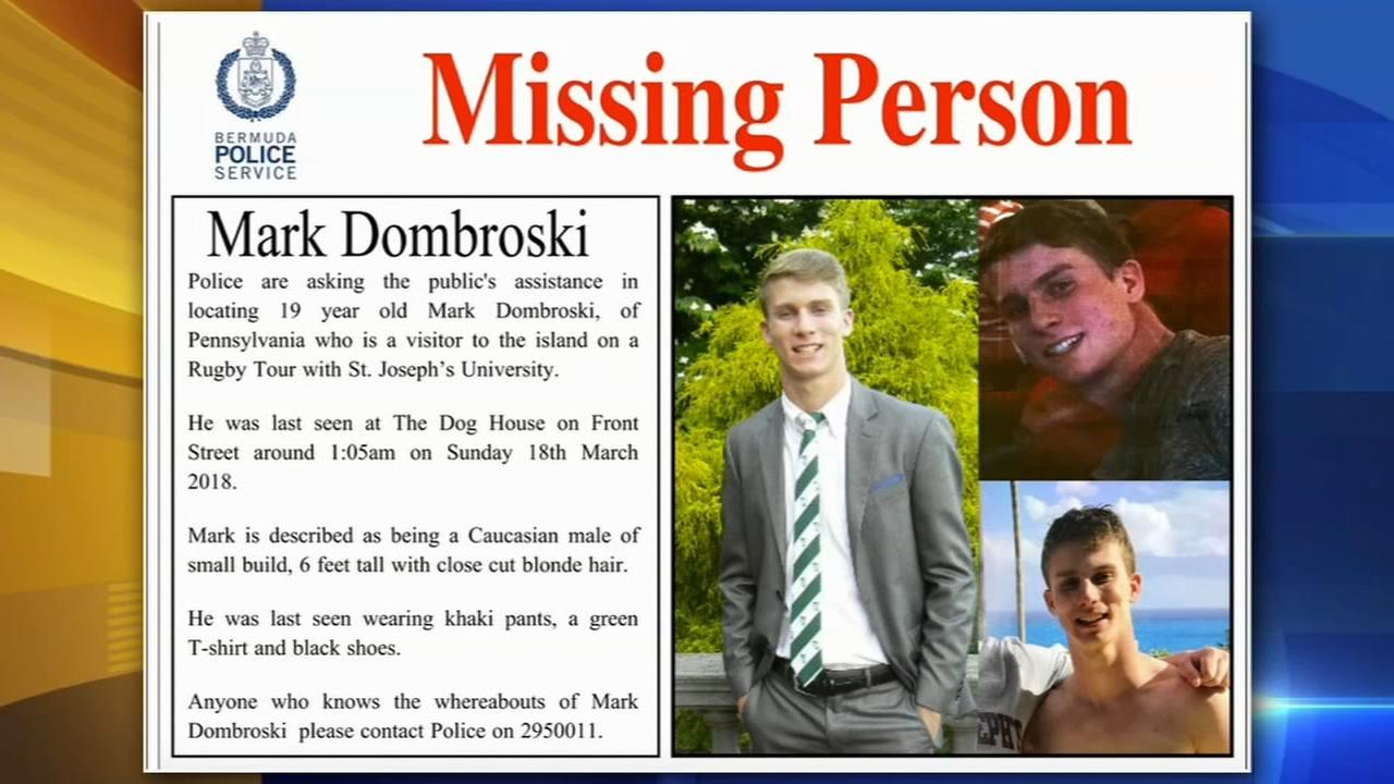 SJU student reported missing in Bermuda