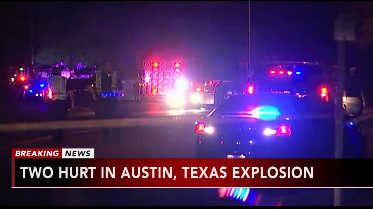 Two hurt in Austin explosion