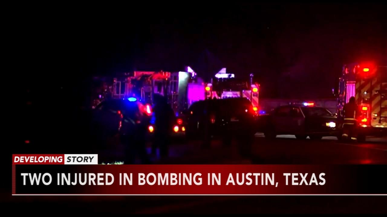 Another explosion injures 2 in Texas capital; cause unclear