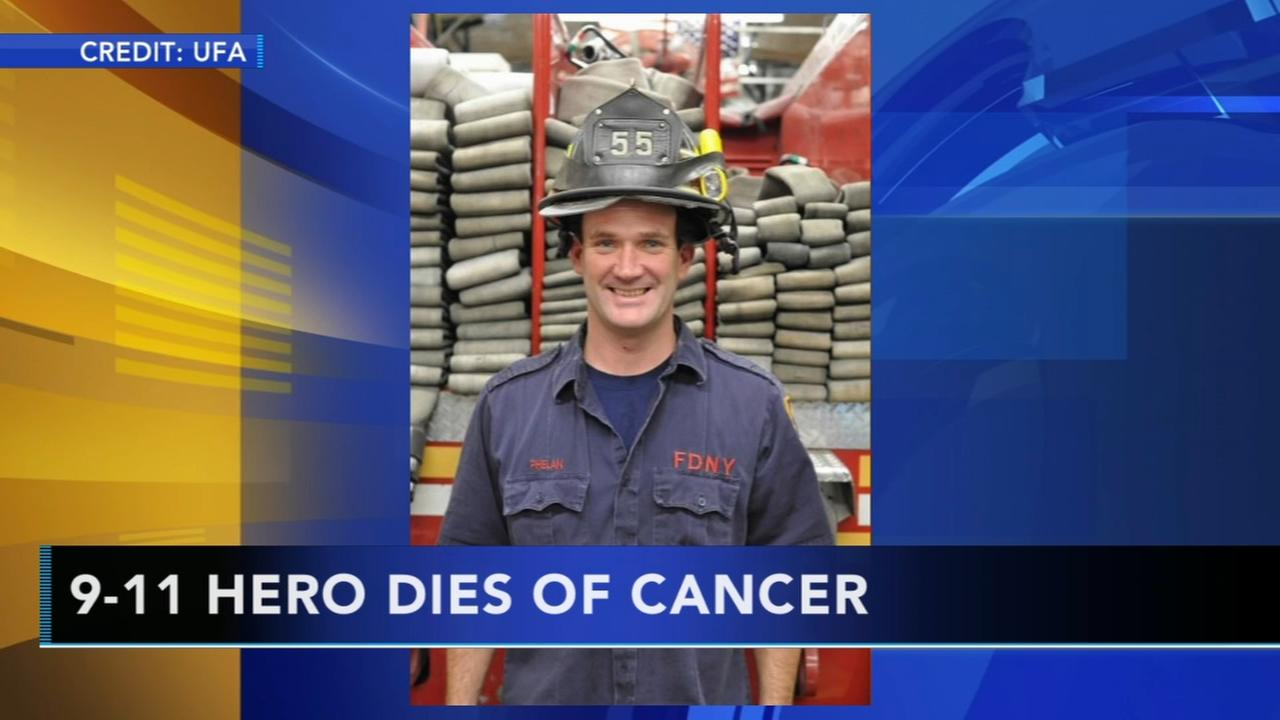 9/11 hero dies of cancer