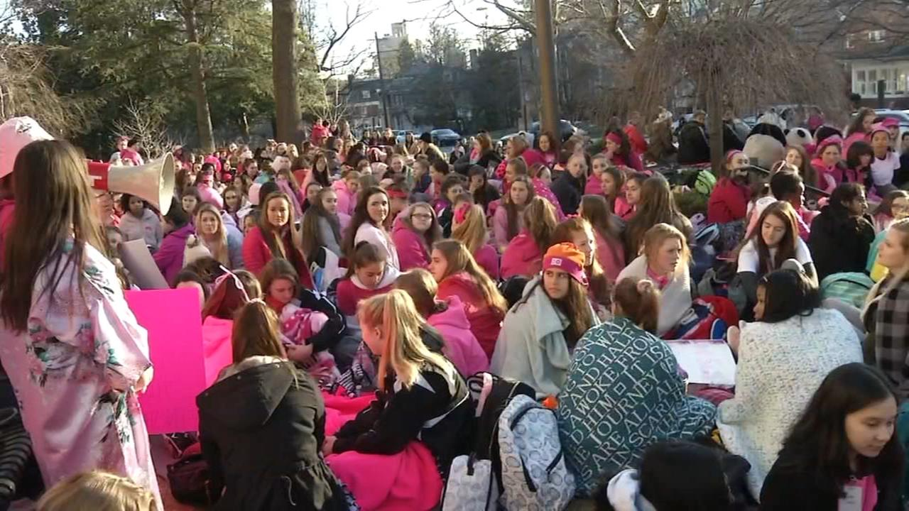 RAW VIDEO: Student protest