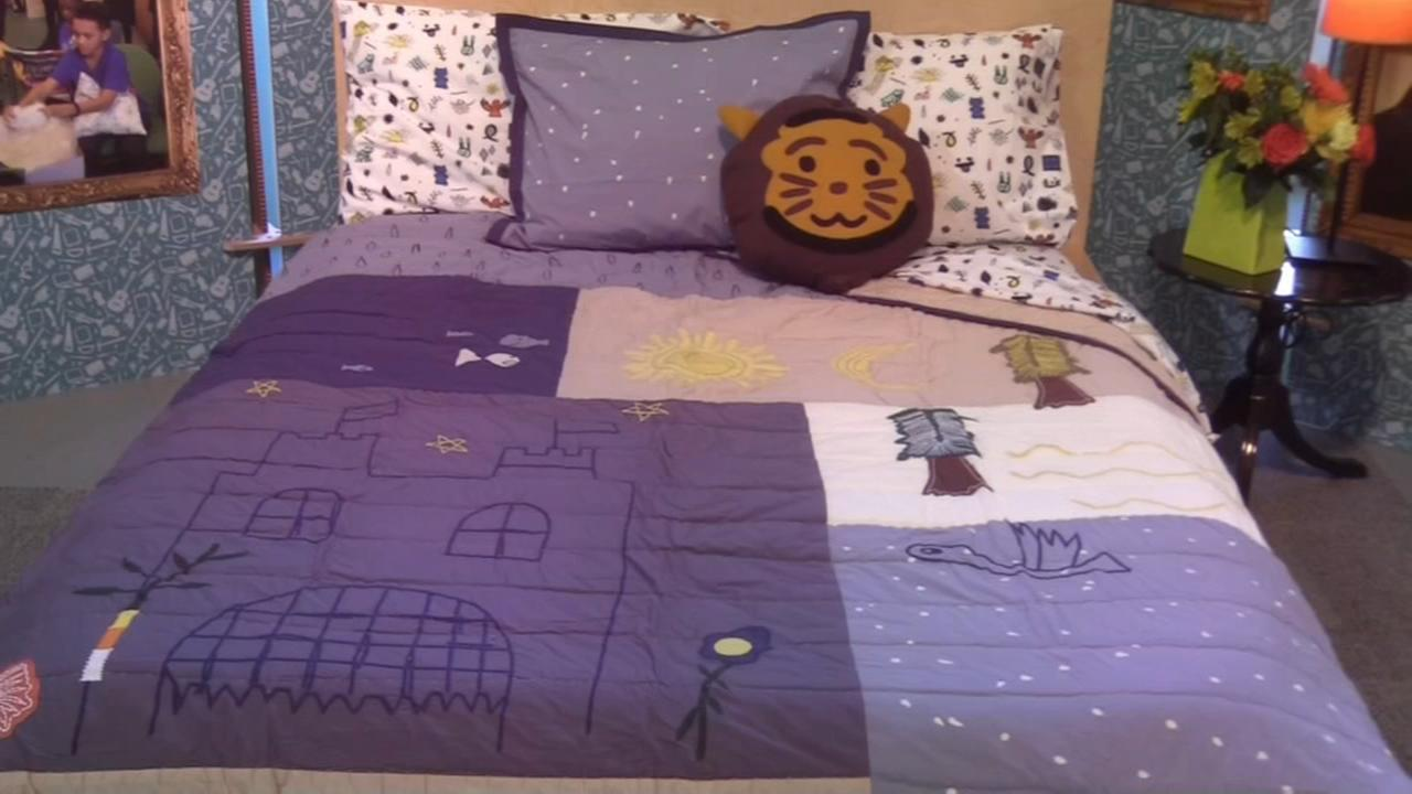 Crate and Barrel collaborates with kids non-profit for bedding design