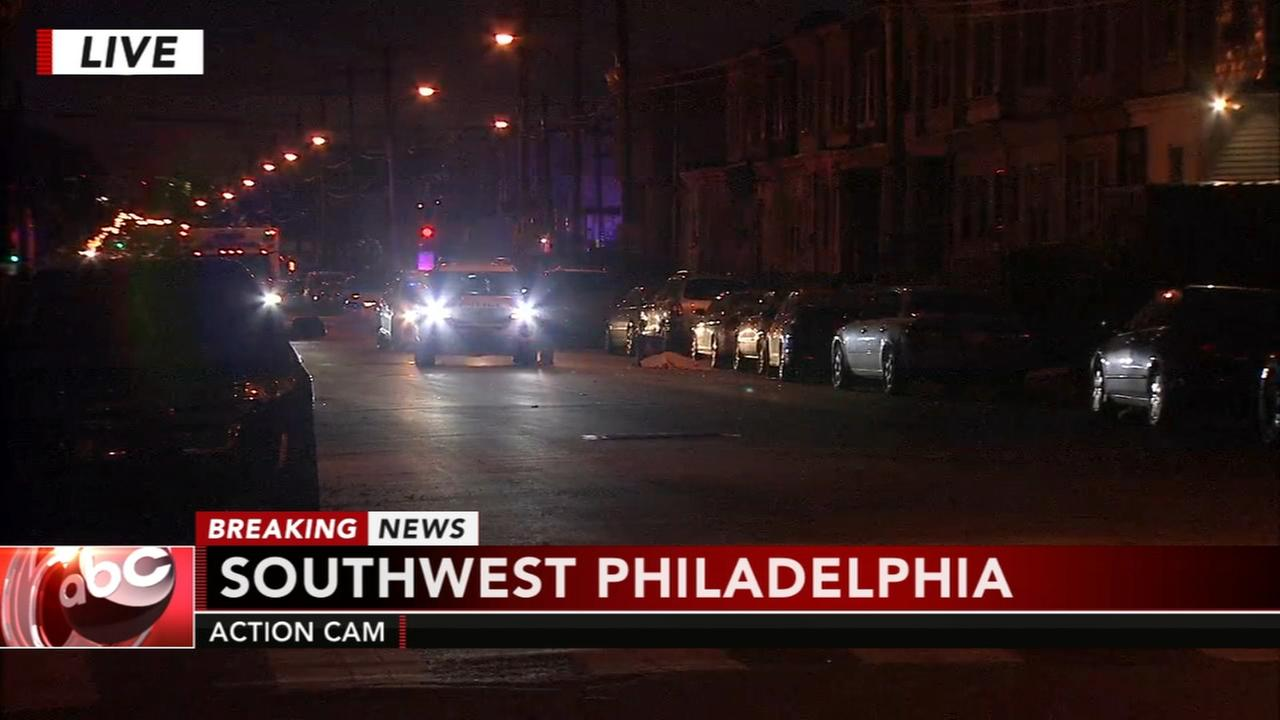Deadly double shooting in SW Philly