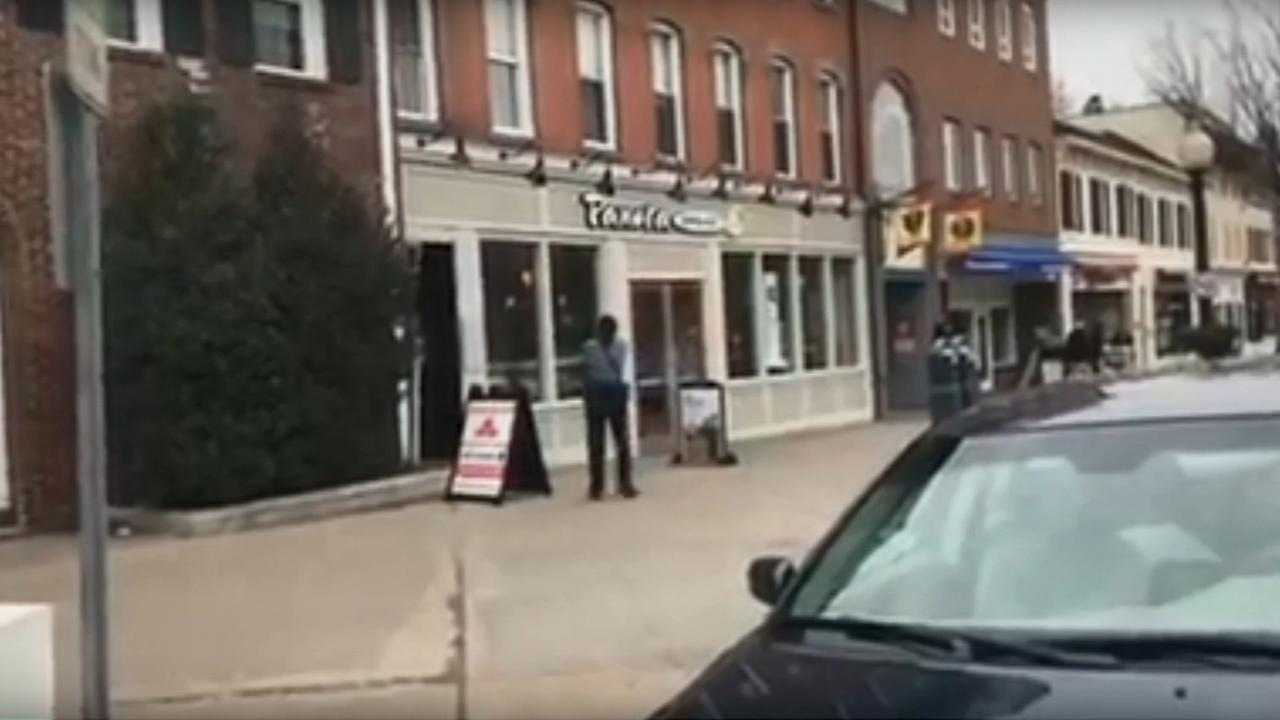 Viewer Video: Standoff at Princeton Panera Bread