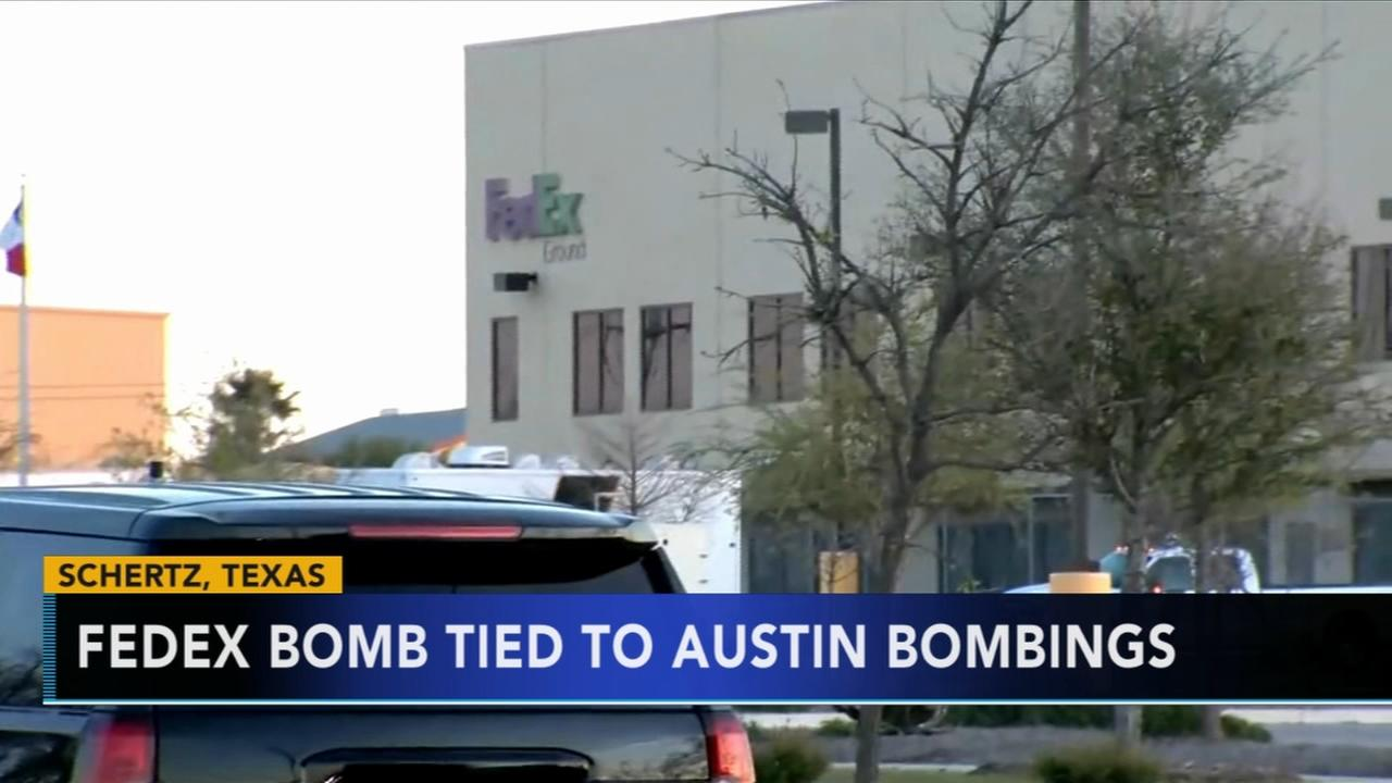 Official says FedEx bomb was destined for Austin