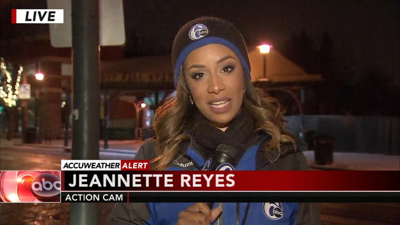 Jeannette Reyes reports from Chestnut Hill