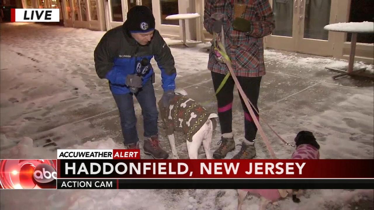 Jeff Chirico reports from Haddonfield, NJ