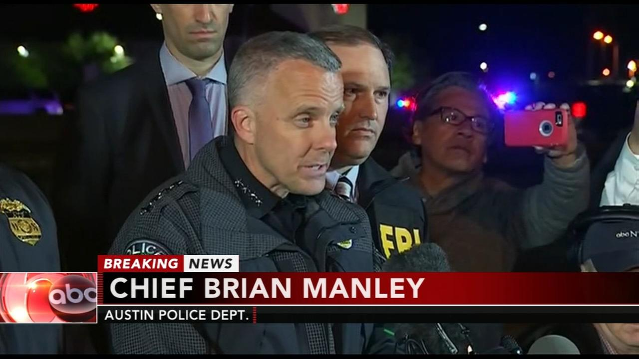 Police chief says Austin bombing suspect is dead