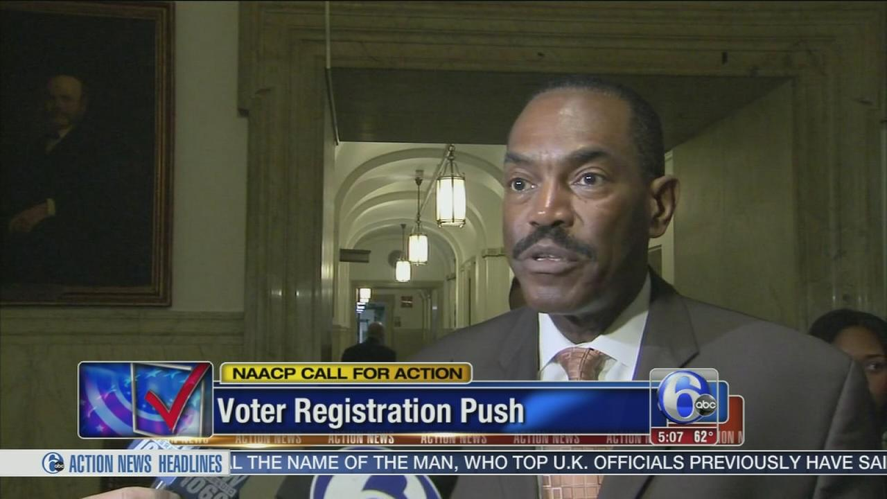 VIDEO: Voter registration push