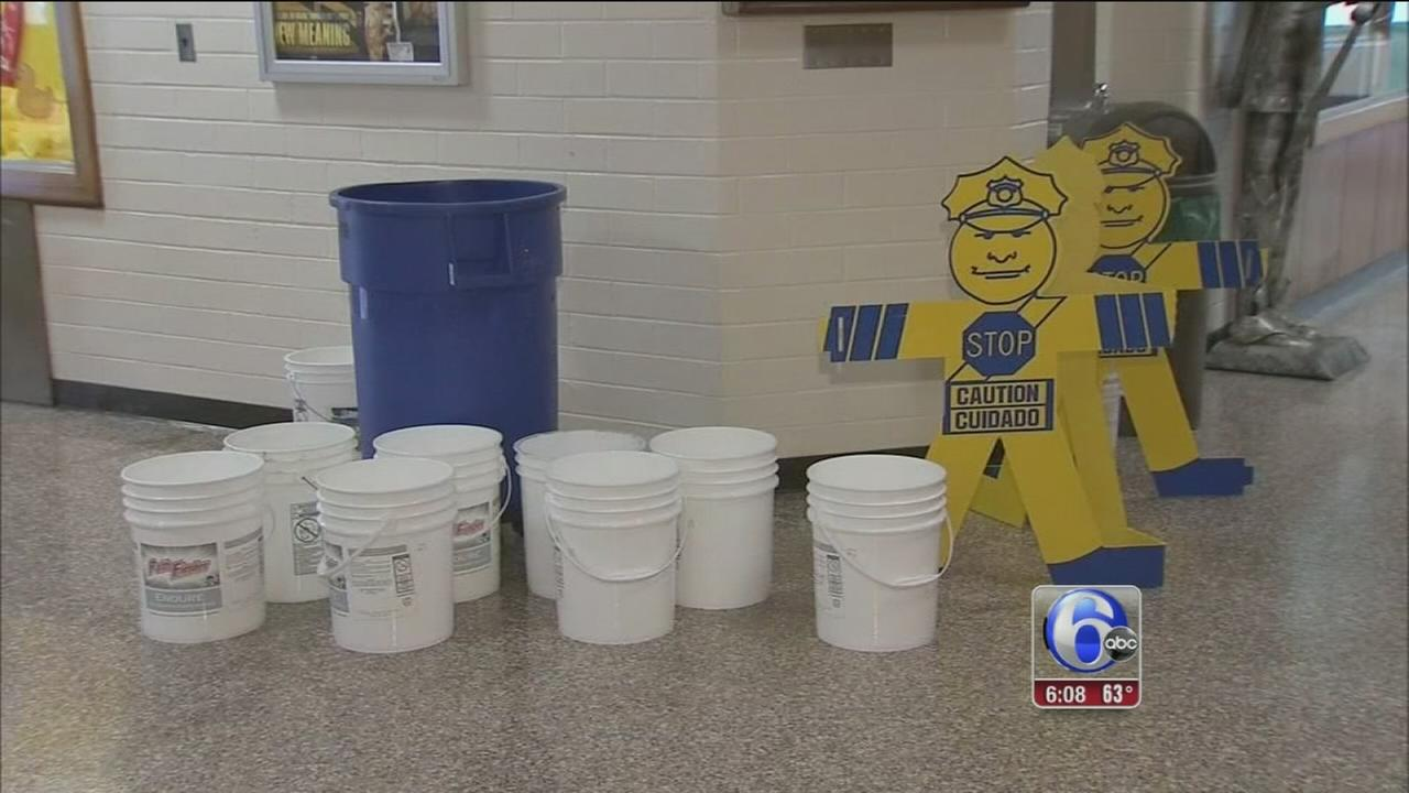 VIDEO: Leaky roof at NJ school raises questions ahead of vote
