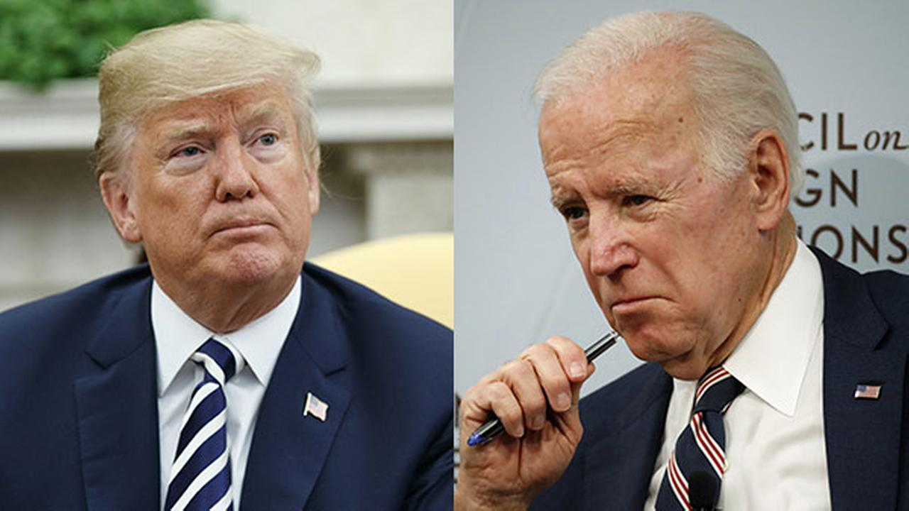 Trump: Biden would go down crying if he assaulted me