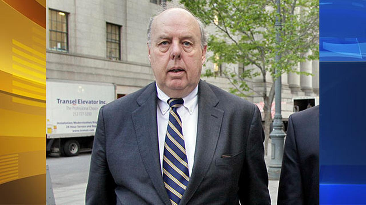 In this April 29, 20111, file photo, attorney John Dowd walks in New York. Dowd, President Donald Trumps lead lawyer in the Russia investigation has left the legal team.