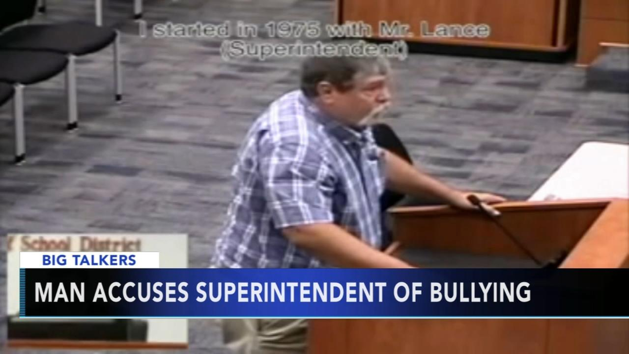 School superintendent accused of bullying by former student