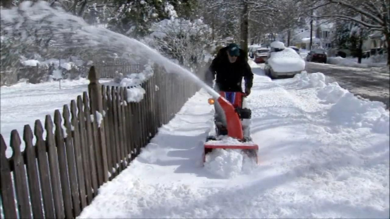 Hard-hit Burlington Co. digging out after noreaster
