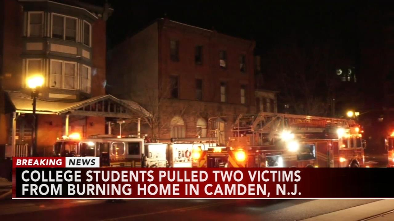 One dead in Camden fire