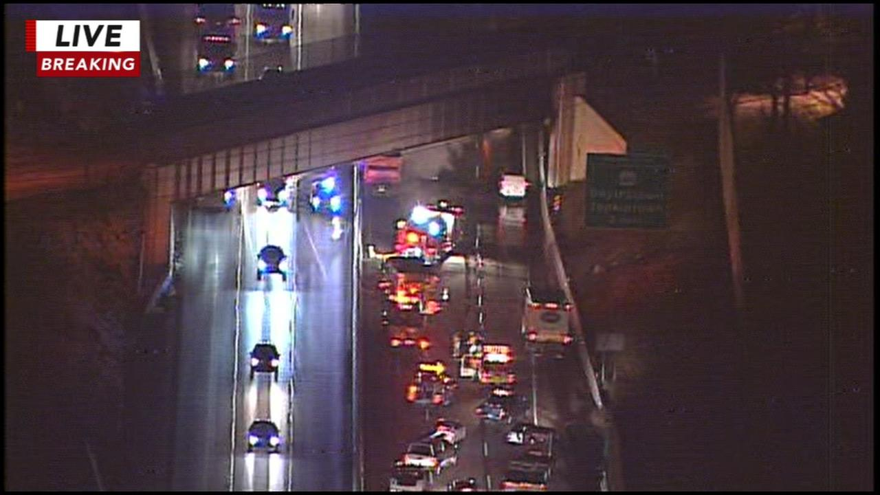 Crash on Pa. Turnpike